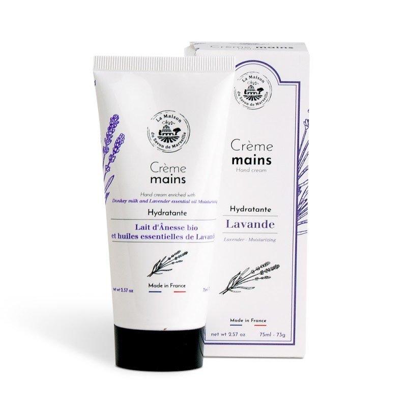 Crème Mains tube 30ml - Huiles essentielles de LAVANDE