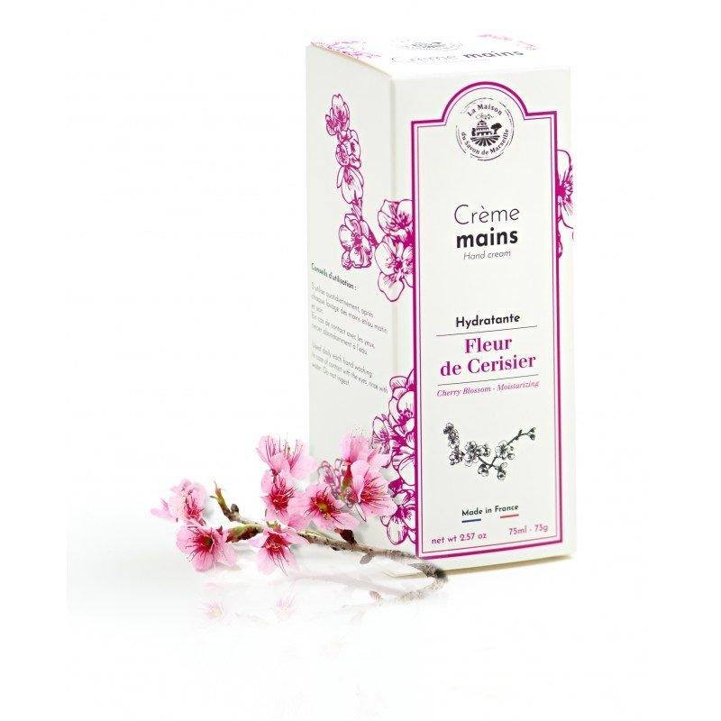Crème Mains tube 75ml - Fleur de Cerisier