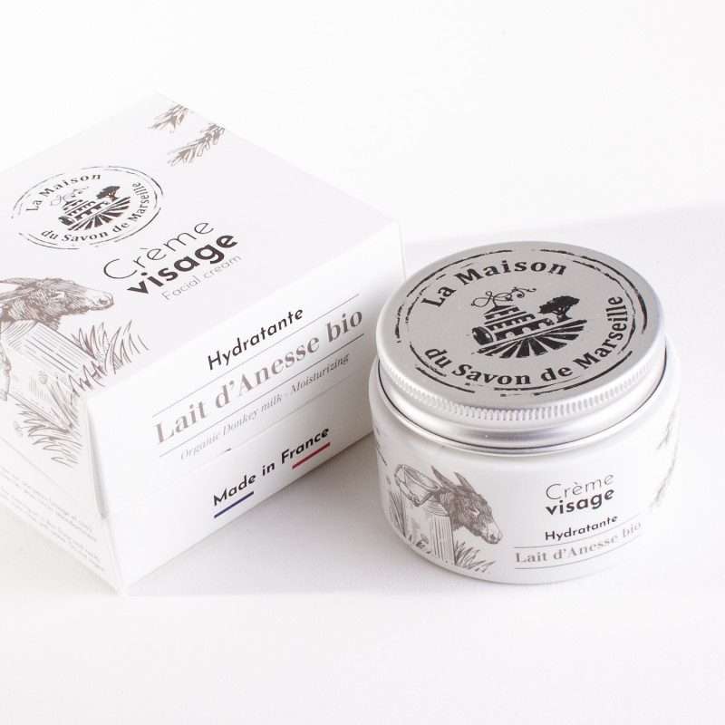 Crème Visage de jour - pot 50ml - LAIT D'ANESSE Bio