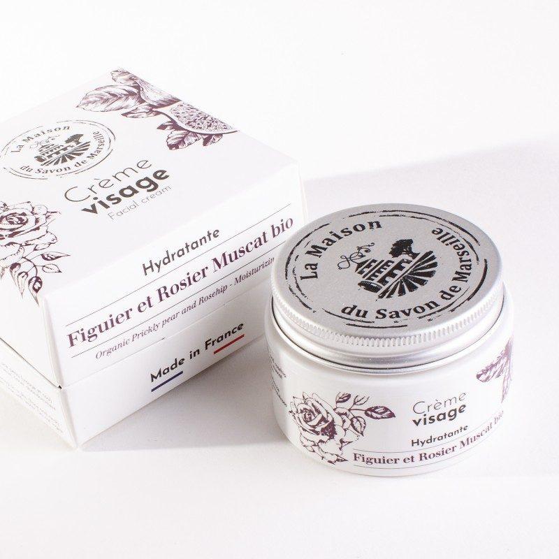 Crème Visage de jour - Pot de 50ml - FIGUE DE BARBARIE Bio