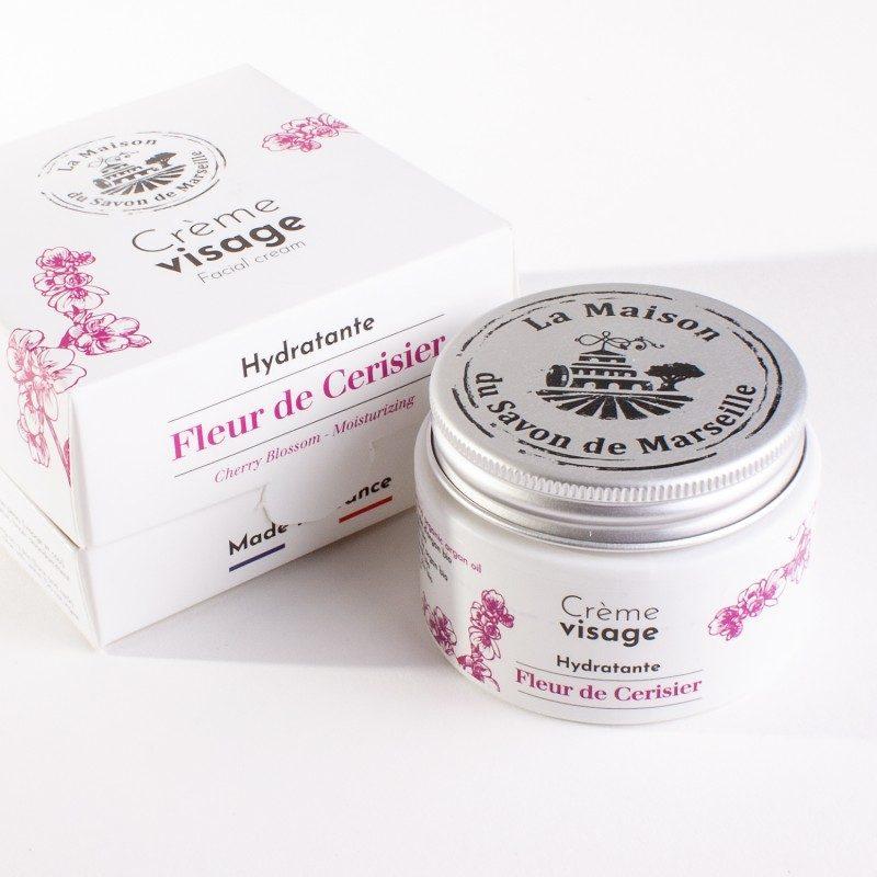Crème Visage de jour- pot de 50ml - Fleur de Cerisier