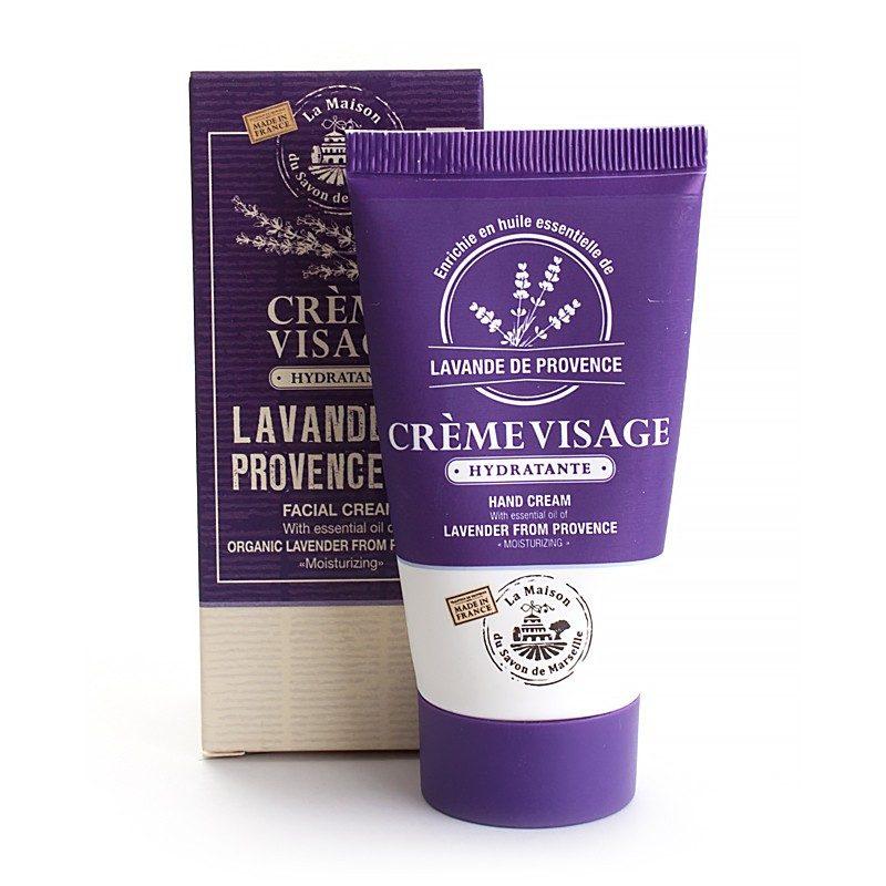 Crème Visage tube 50ml LAVANDE Bio