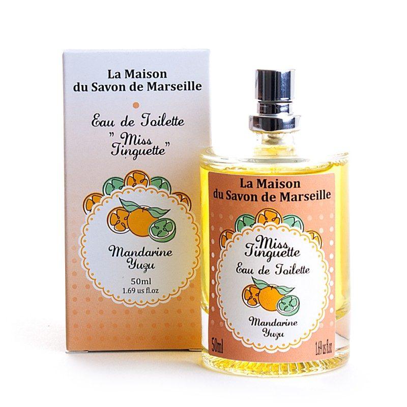 """Eau de toilette """"MISS TINGUETTE"""" 100% NATURELLE, aux huiles..."""