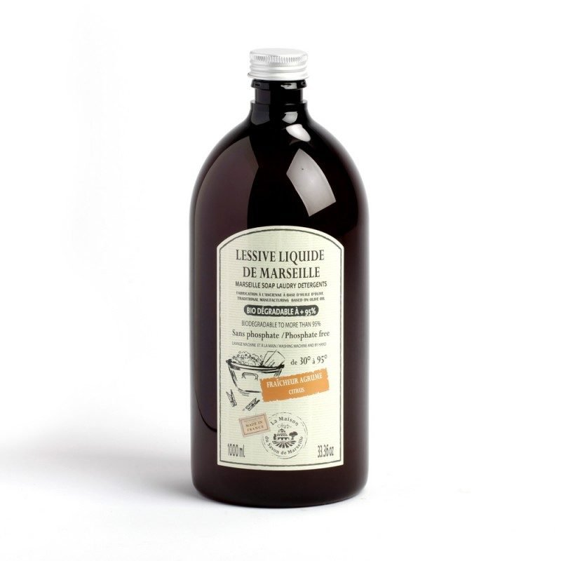 Lessive Liquide de Marseille 1L AGRUMES