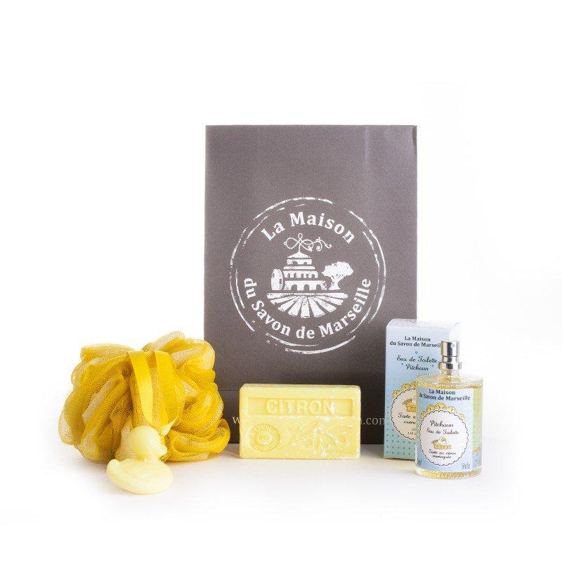 Pochette cadeau Citron