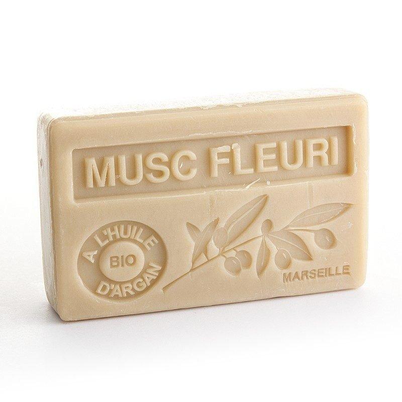 Savon 100gr huile d'argan bio - MUSC FLEURI