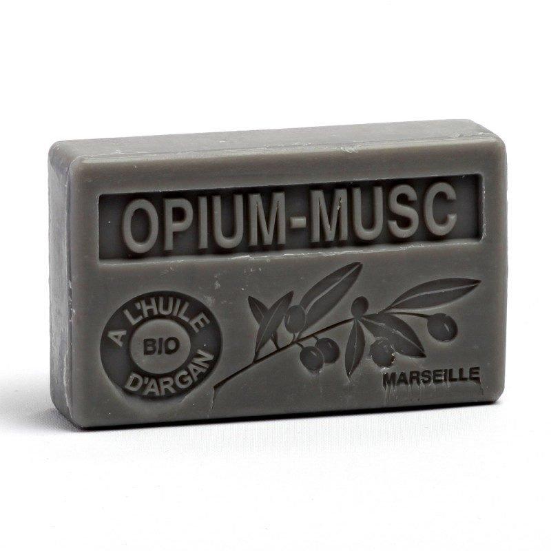 Savon 100gr huile d'argan bio - OPIUM MUSC