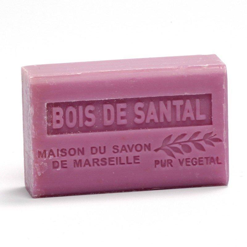 Savon 125gr au beurre de karité bio- BOIS DE SANTAL