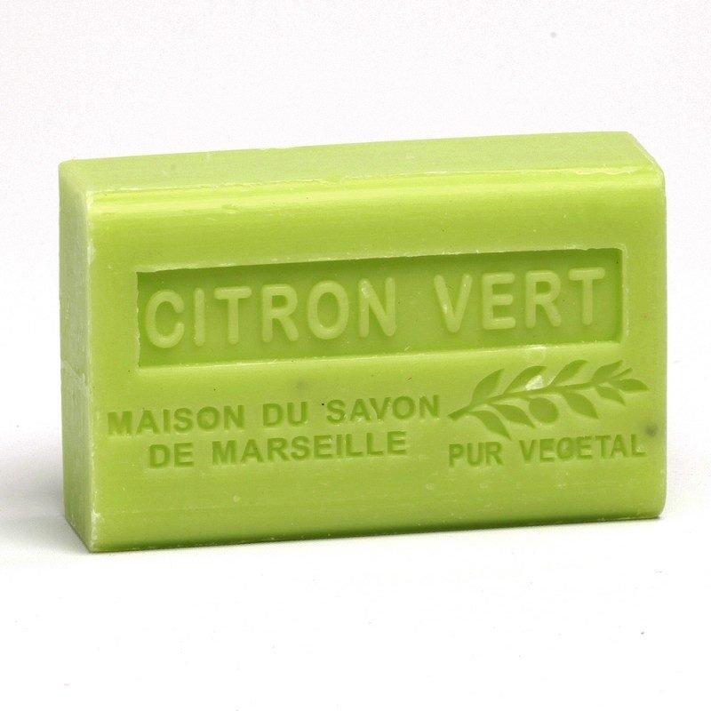 Savon 125gr au beurre de karité bio- CITRON VERT