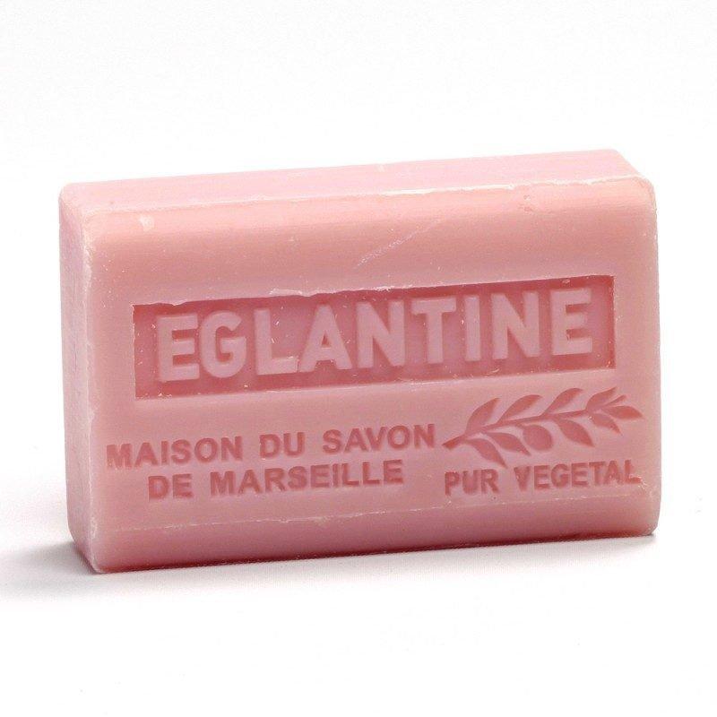 Savon 125gr au beurre de karité bio- EGLANTINE
