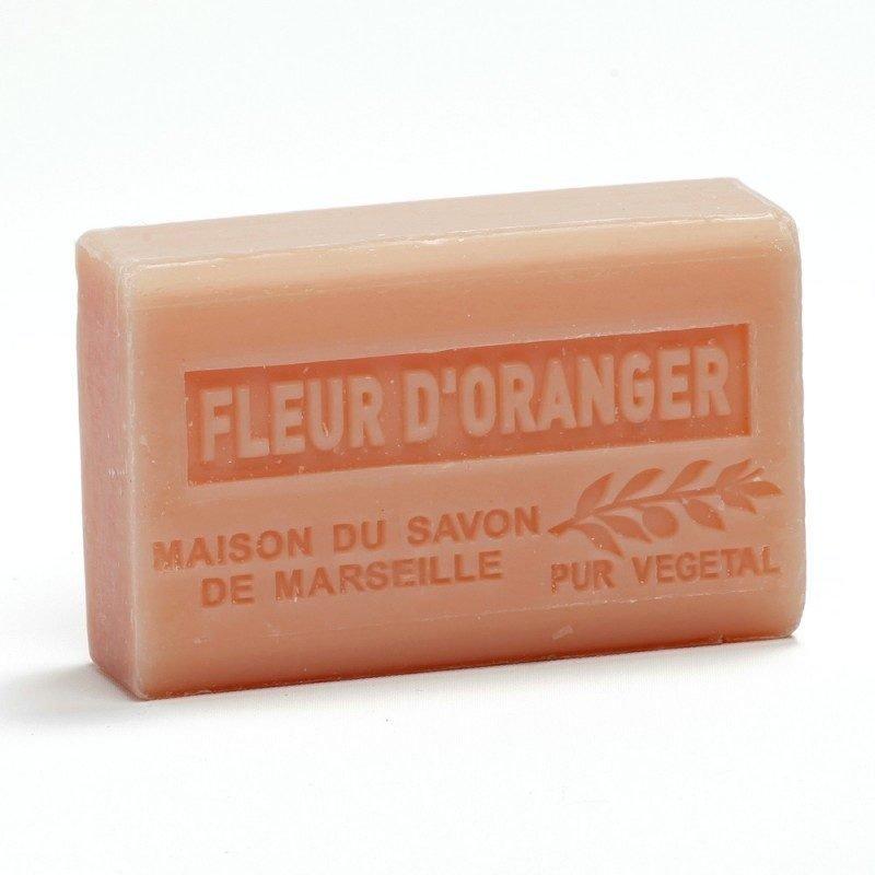 Savon 125gr au beurre de karité bio- FLEUR D'ORANGER