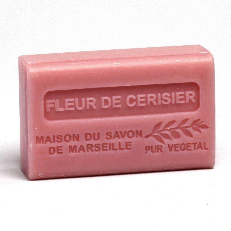Savon 125gr au beurre de karité bio- FLEUR DE CERISIER