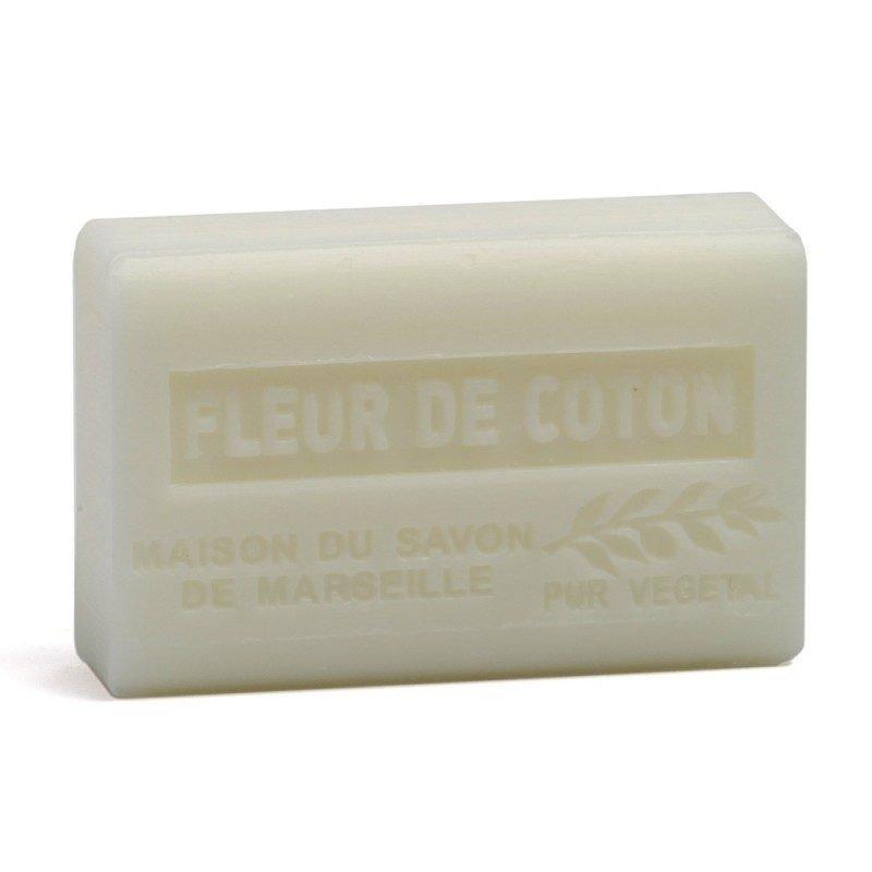 Savon 125gr au beurre de karité bio- FLEUR DE COTON