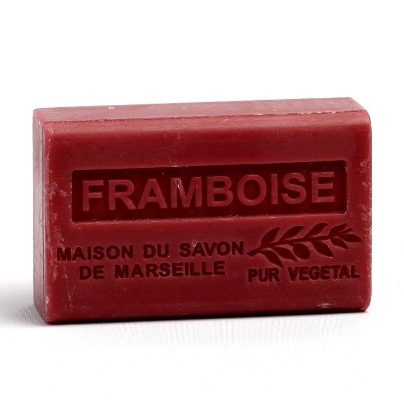 Savon 125gr au beurre de karité bio- FRAMBOISE
