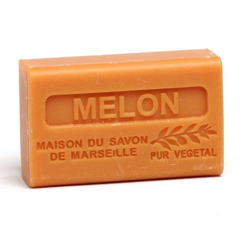 Savon 125gr au beurre de karité bio- MELON