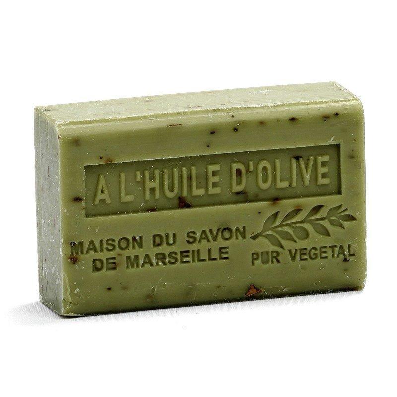 Savon 125gr au beurre de karité bio- OLIVE CONCASSEE