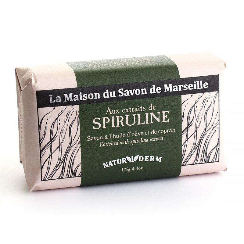 Savon 125gr Naturiderm - SPIRULINE