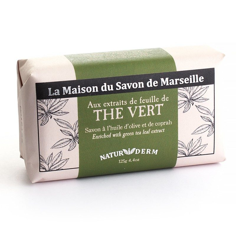 Savon 125gr Naturiderm - THE VERT