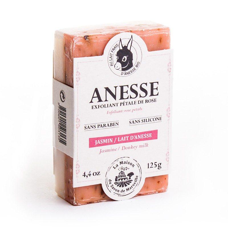 Savon DUO 125gr au lait d'anesse - JASMIN/LAIT D'ANESSE