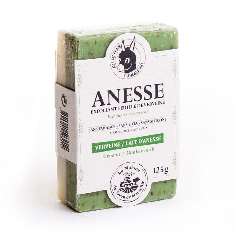 Savon DUO 125gr au lait d'anesse - VERVEINE/'ANESSE