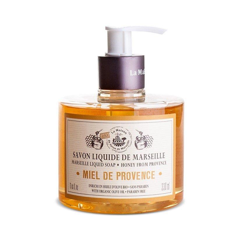 Savon liquide de Marseille 330ml MIEL DE PROVENCE- à l'Huile...