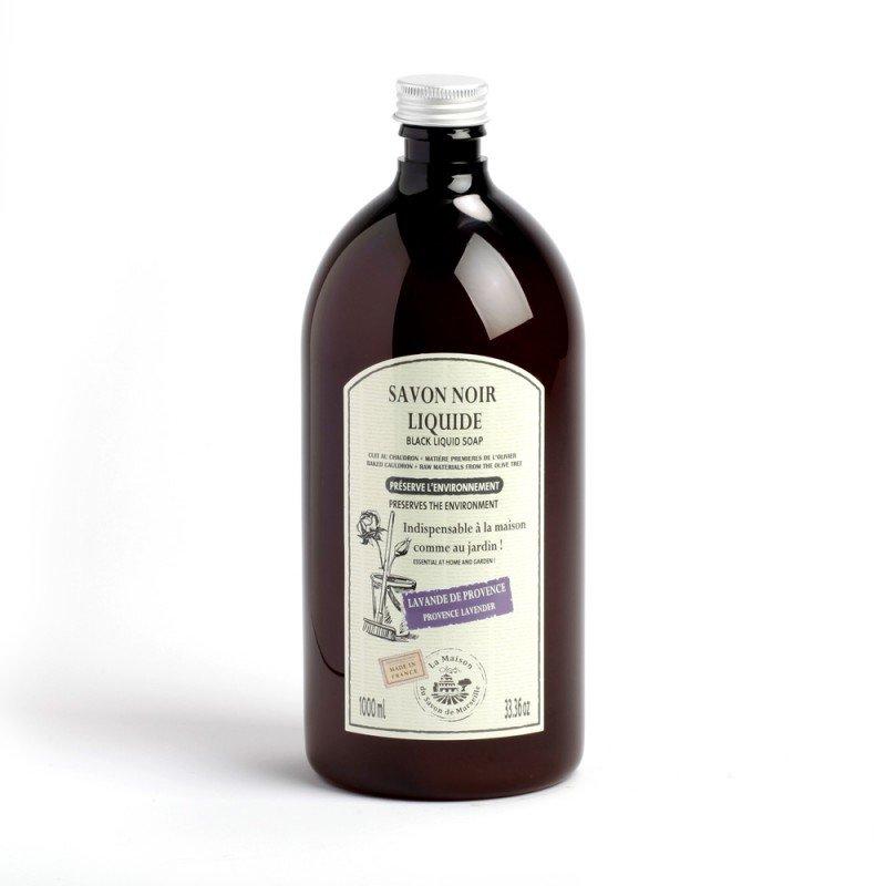 Savon Noir Liquide Ménager 1L LAVANDE